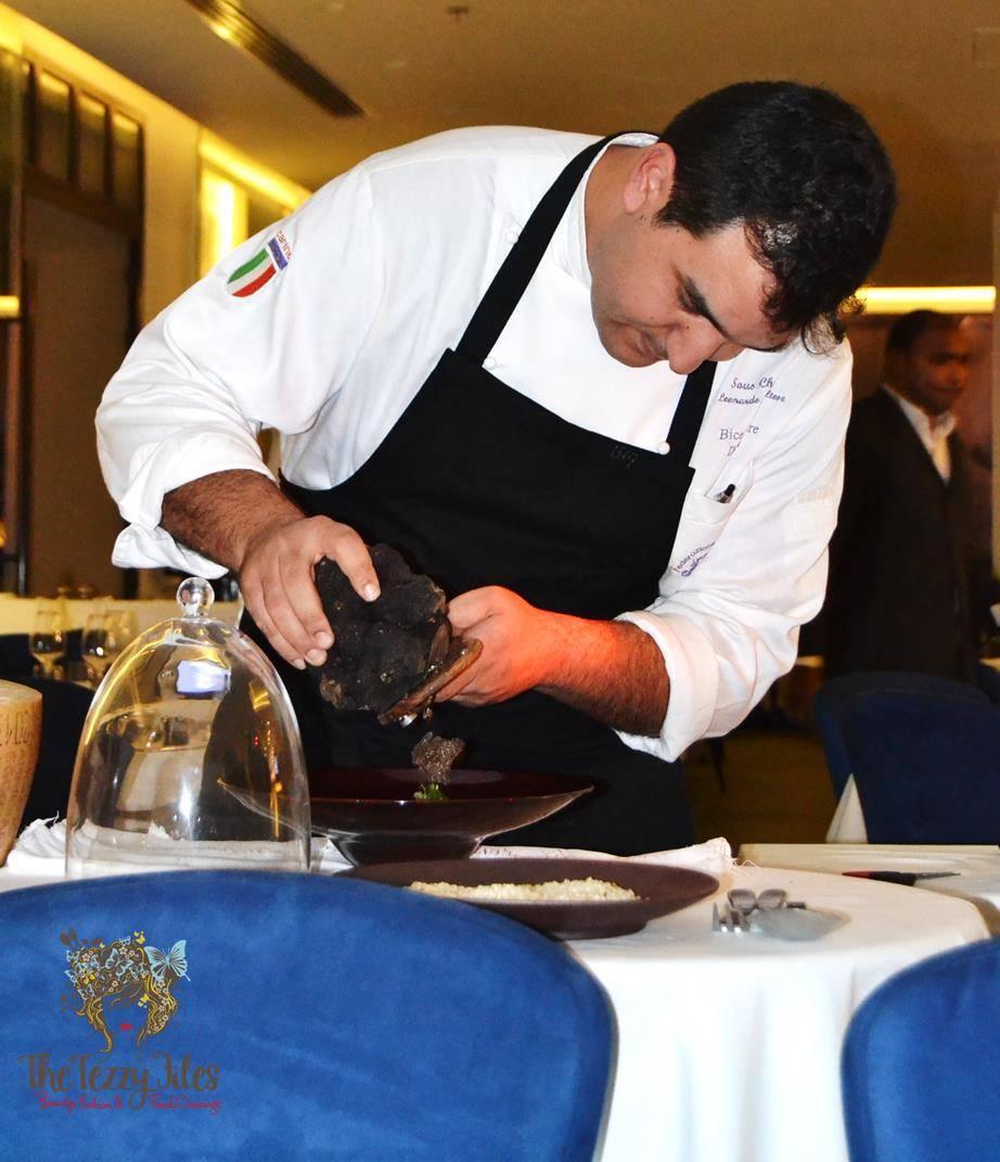 BiCE Mare Italian Black Truffle 6 course dinner Souk Al Bahar Dubai (11)