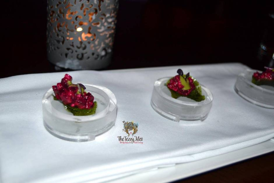 Junoon Shagri La Dubai review Michelin Star restaurant Indian fusion (25)