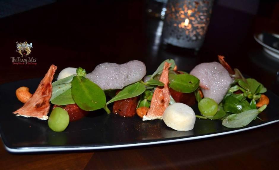 Junoon Shagri La Dubai review Michelin Star restaurant Indian fusion (28)