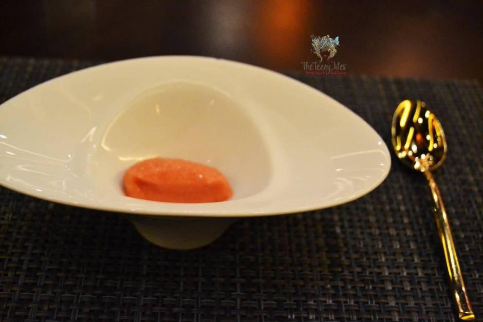 Junoon Shagri La Dubai review Michelin Star restaurant Indian fusion (4)