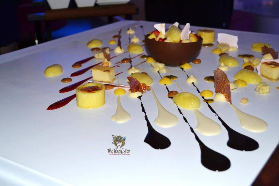 pure sky lounge hilton the walk jbr review sharing dessert 9 course menu tasting blog review food dubai uae fine dining chef sven schmidt (6)