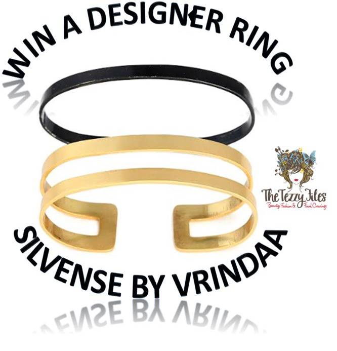 Win a designer ring Silvense by Vrindaa The Tezzy File Numaish Winter Show