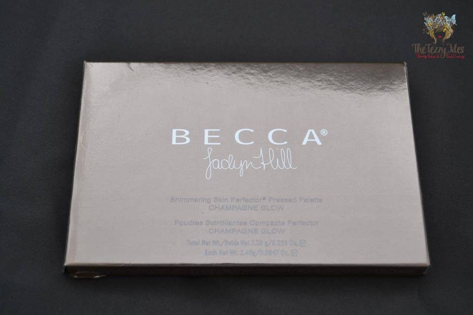 Becca by Jaclyn Hill Shimmering Skin Perfecter Pearl Champagne Pop Blushed Copper Review trio palette (4)