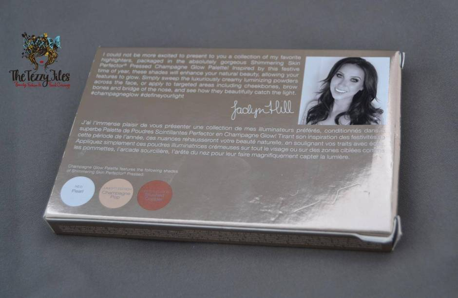 Becca by Jaclyn Hill Shimmering Skin Perfecter Pearl Champagne Pop Blushed Copper Review trio palette (5)