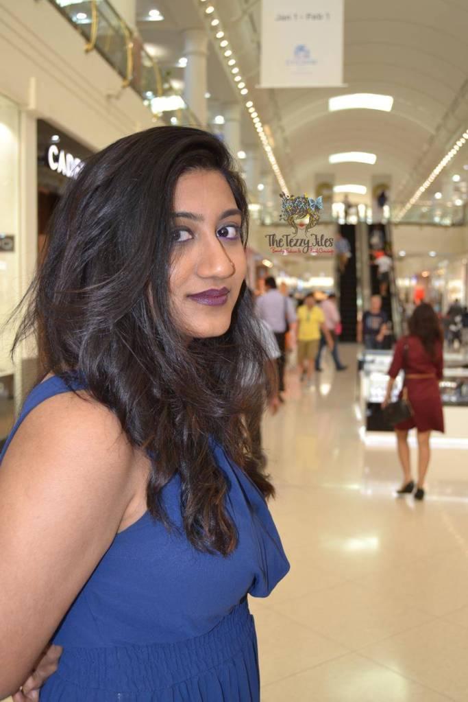 dressing up darshana makeover marka gulf dress makeup forever lime crime dubai uae deira city centre (2)