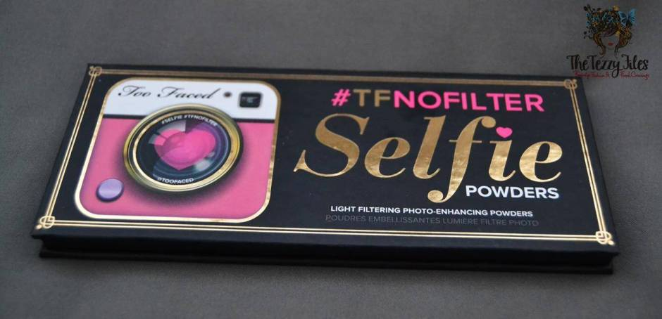 too faced no filter selfie #TFNoFilter Selfie Powders review1