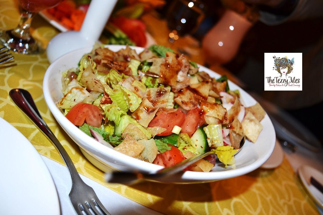 Tal al amar lebanese restaurant dubai review arabic for Al amar lebanese cuisine