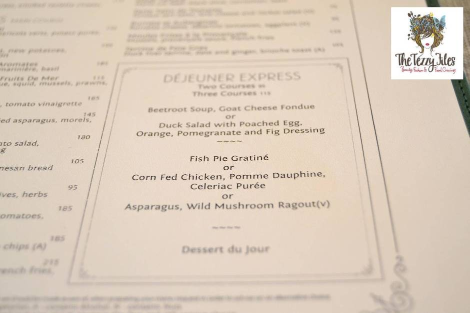 Brasserie Quartier St Regis Dubai business lunch review French fine dining (21)