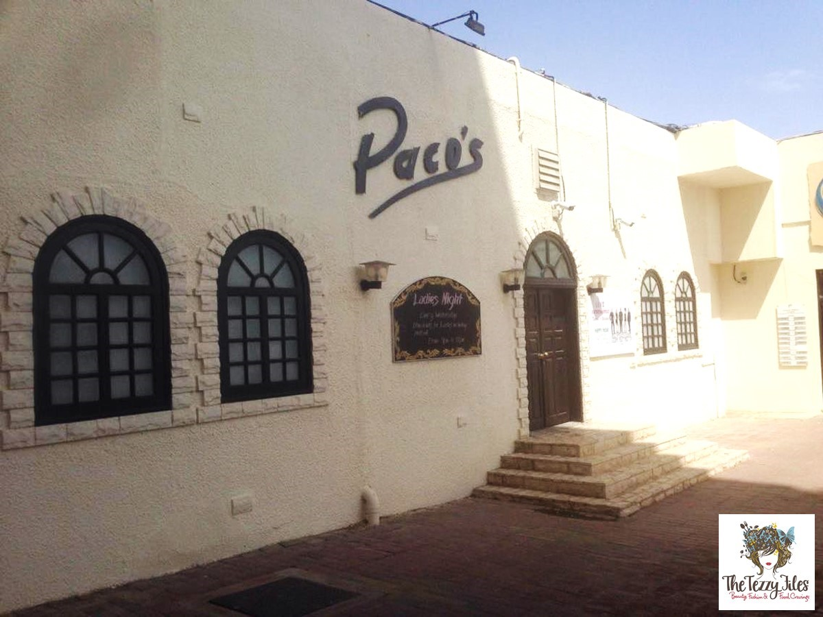 Paco's Tex Mex bar Al Ain nightlife review The Tezzy Files travel lifestyle food blog UAE (1)