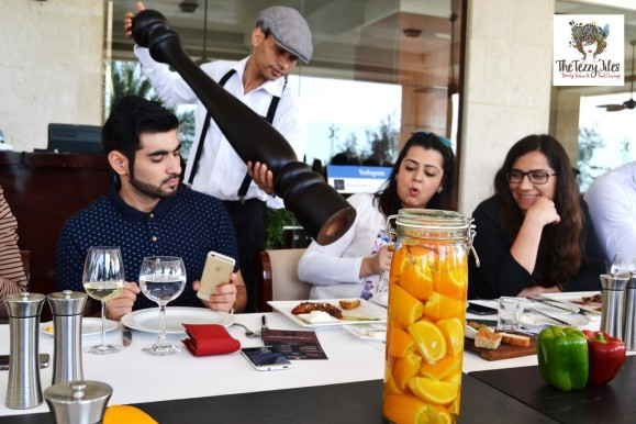 Sabella's Organic Italian Restaurant at the Kempinski Hotel Ajman, Zomato meetup, review by the tezzy files UAE food and lifestyle blogger (9)
