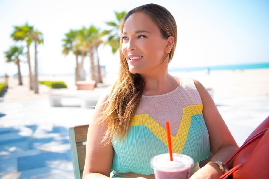 blue ink beachwear founder anisha lalani