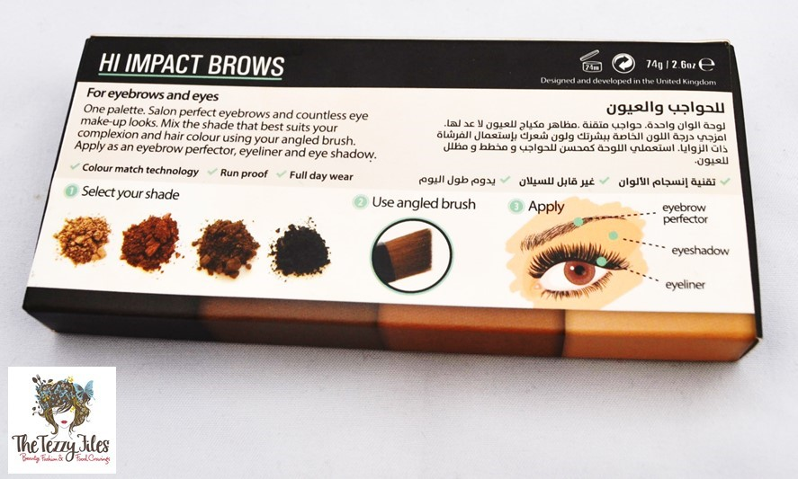 High Impact Brows eye and brow perfector palette review by the tezzy files dubai beauty and lifestyle blogger (5)