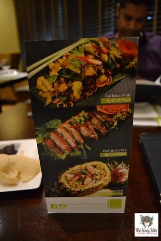 Lemongrass Restaurant Menu Dubai