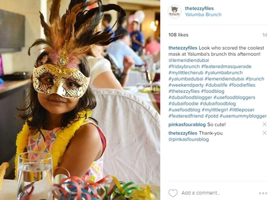 yalumba brunch masquerade
