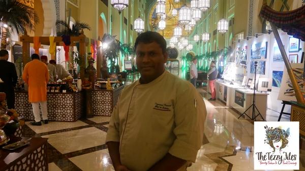 Executive Head Chef Dayanand Prasad