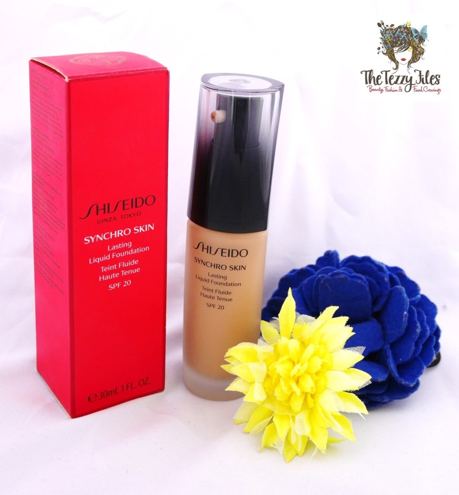 Shiseido Syncro Skin Lasting Liquid Foundation  Review by The Tezzy Files Dubi Beauty and Lifestyle Blog UAE (1)