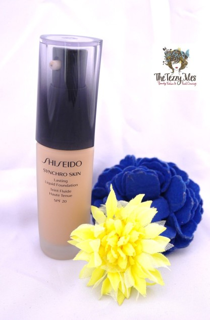 Shiseido Syncro Skin Lasting Liquid Foundation  Review by The Tezzy Files Dubi Beauty and Lifestyle Blog UAE (2)