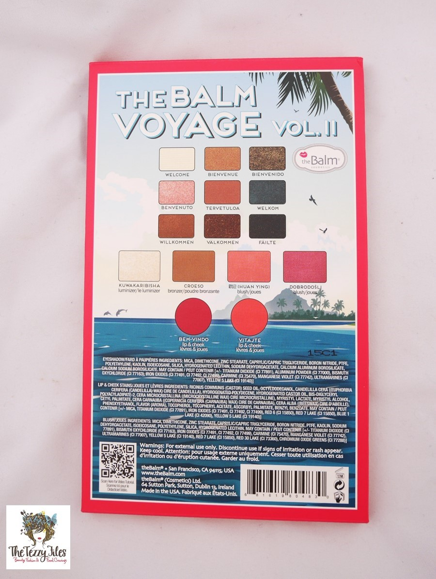The Balm Voyage palatte makeup for travel review by The Tezzy Files Dubai Beauty Makeup Blog Blogger UAE (2)