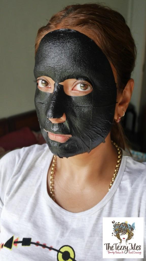 OLEVA + Oxygen Moisturizing Black Mask review by The Tezzy Files Dubai Beauty Blog Lifestyle Blogger UAE Sephora Middle East(5)