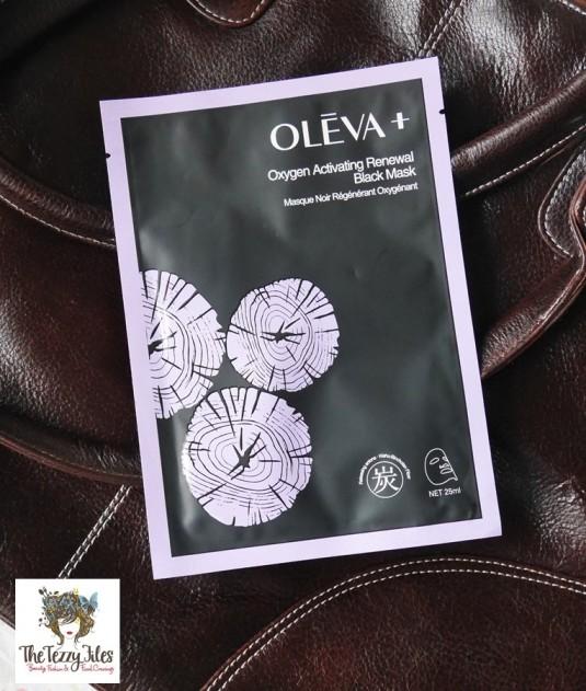OLEVA + Oxygen Moisturizing Black Mask review by The Tezzy Files Dubai Beauty Blog Lifestyle Blogger UAE Sephora Middle East(6)