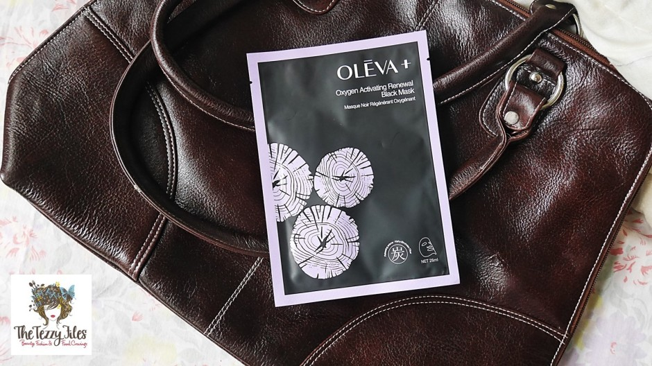 OLEVA + Oxygen Moisturizing Black Mask review by The Tezzy Files Dubai Beauty Blog Lifestyle Blogger UAE Sephora Middle East(7)