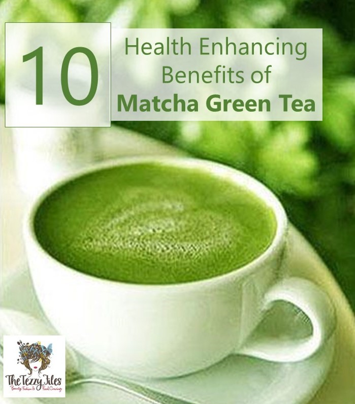 10 benefits of matcha green tea