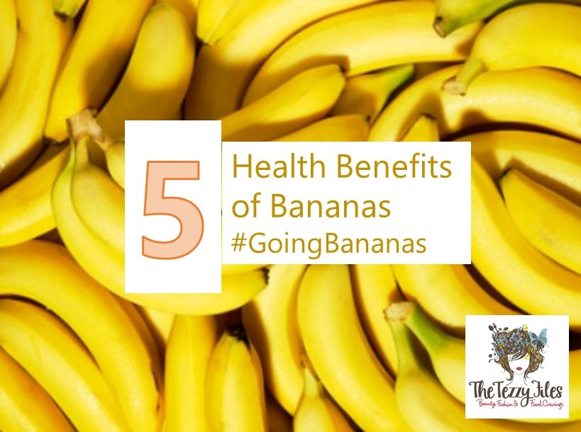 5 Benefits of eating bananas
