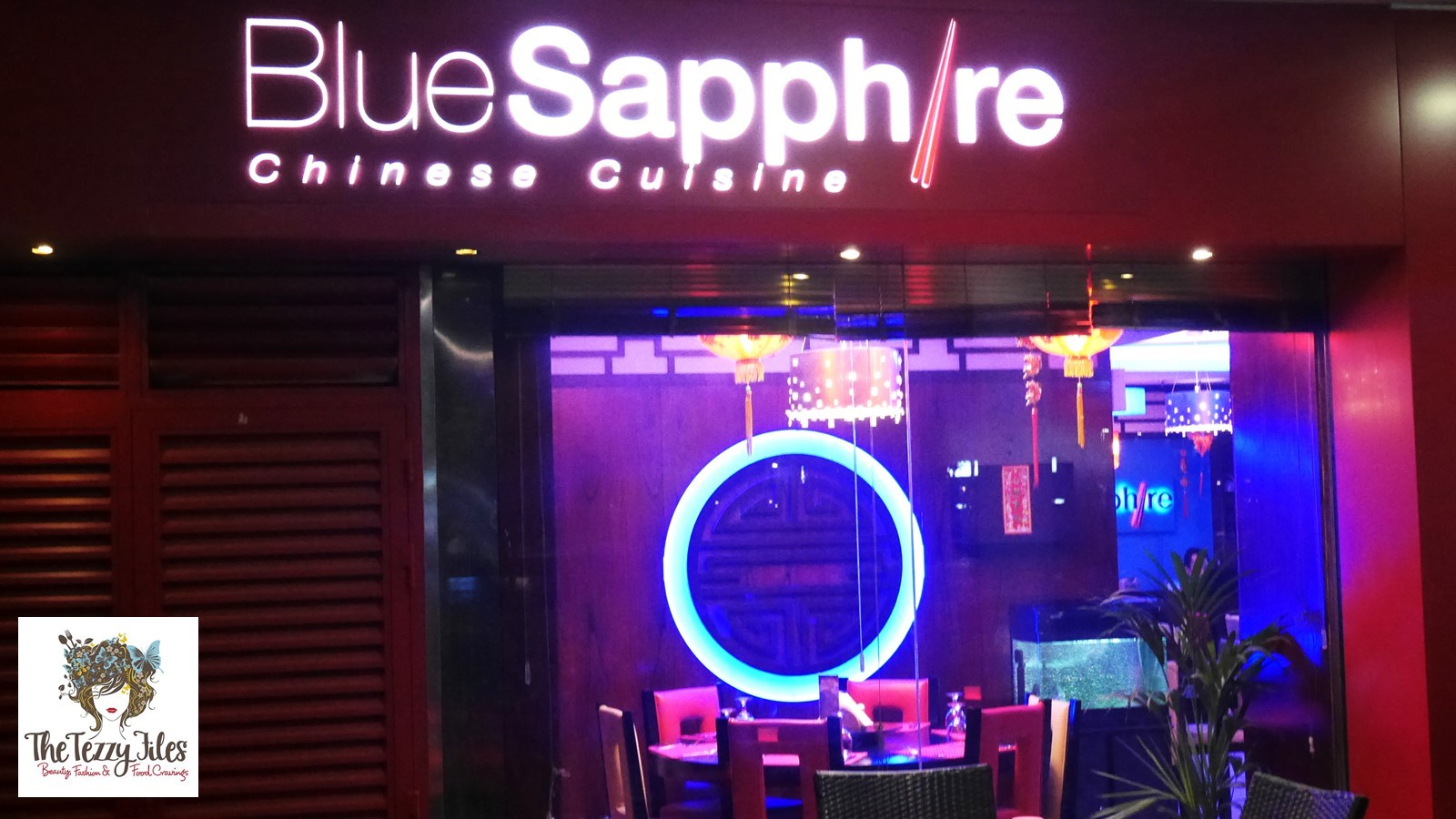 Blue Sapphire Indo Chinese restaurant JLT Dubai review by The Tezzy Files UAE Food Blogger (1)