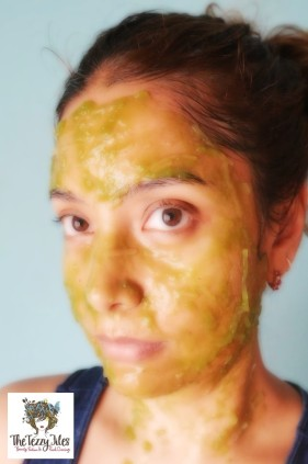 DIY Matcha Green Tea Peel Off Face Mask for glowing skin (5)
