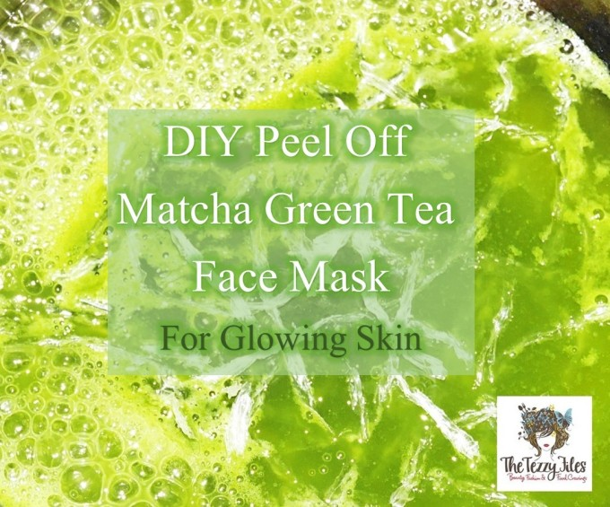 DIY Matcha Green Tea Peel Off Face Mask for glowing skin (6)