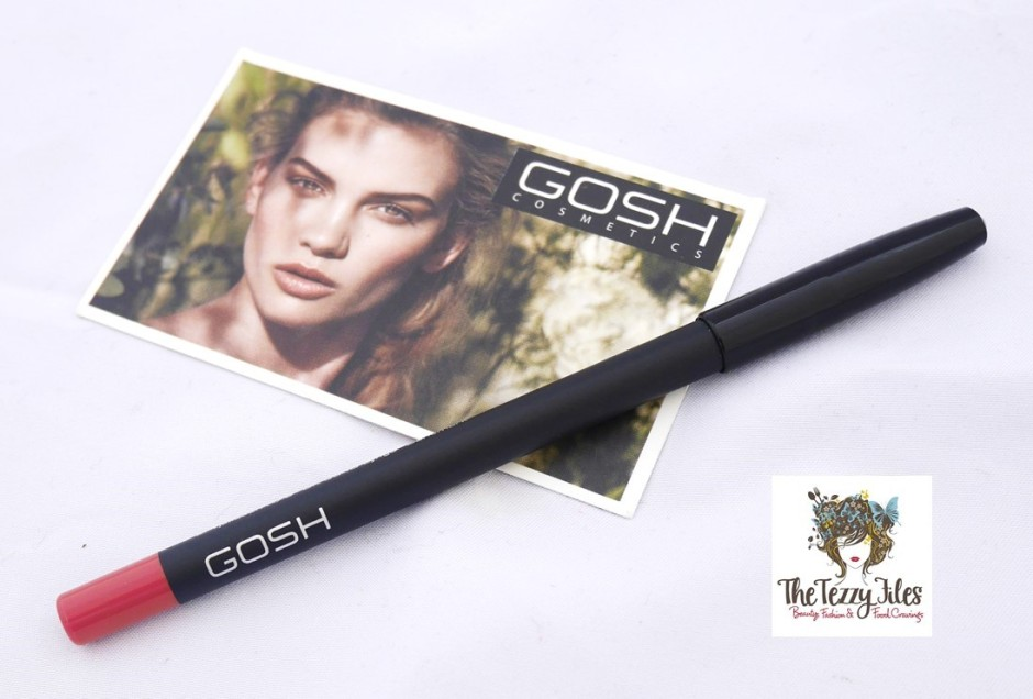 GOSH Cosmetics makeup tutorial review by The Tezzy Files Dubai Makeup and Beauty Blog UAE blogger (2)
