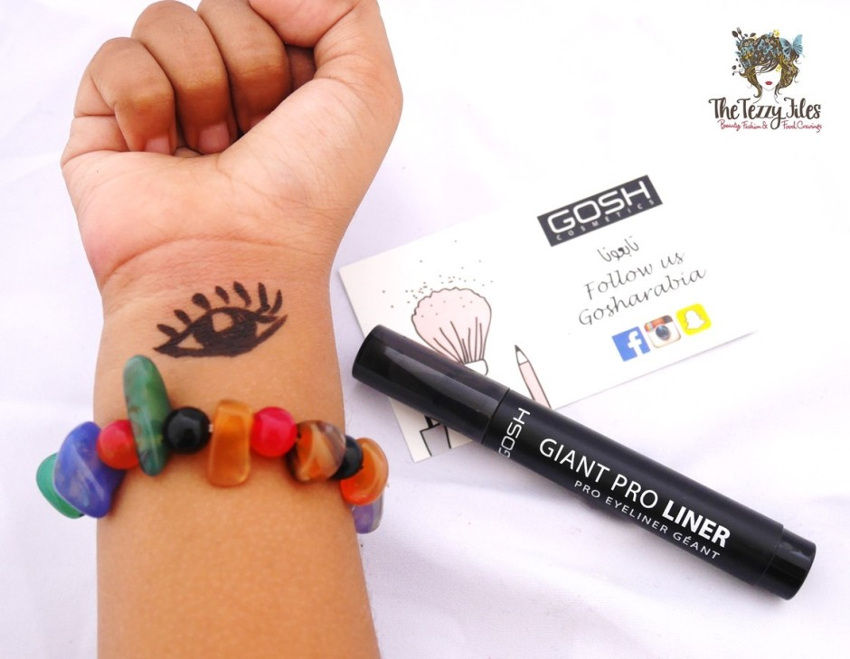 GOSH Cosmetics makeup tutorial review by The Tezzy Files Dubai Makeup and Beauty Blog UAE blogger (8)
