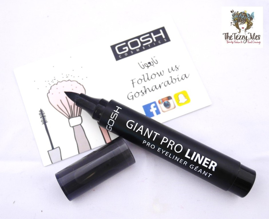 GOSH Cosmetics makeup tutorial review by The Tezzy Files Dubai Makeup and Beauty Blog UAE blogger (9)