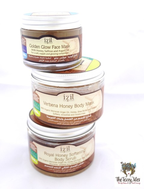 Izil honey skincare range review by The Tezzy Files Dubai Beauty Blog