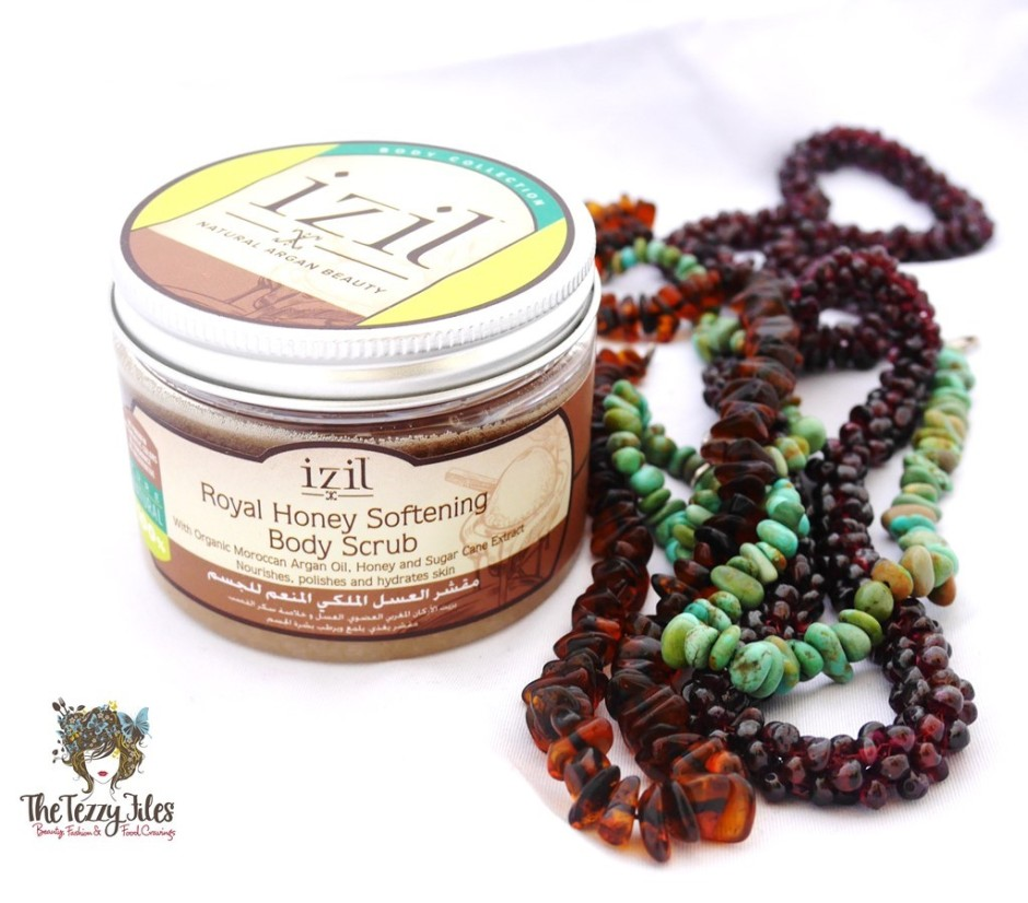 Izil royal honey softenin body scrub review