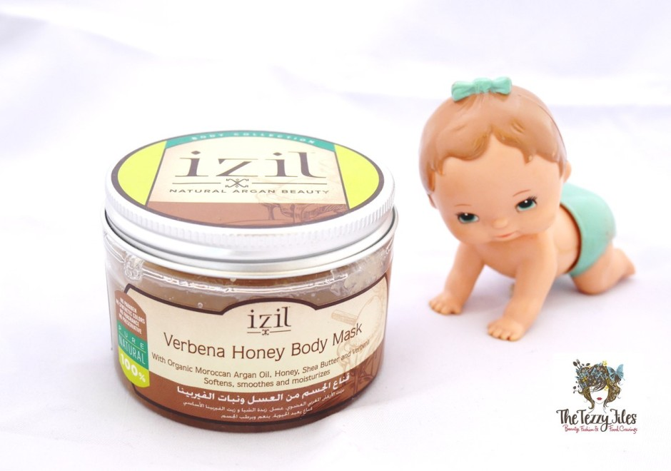 Izil Verbena Honey Body Mask