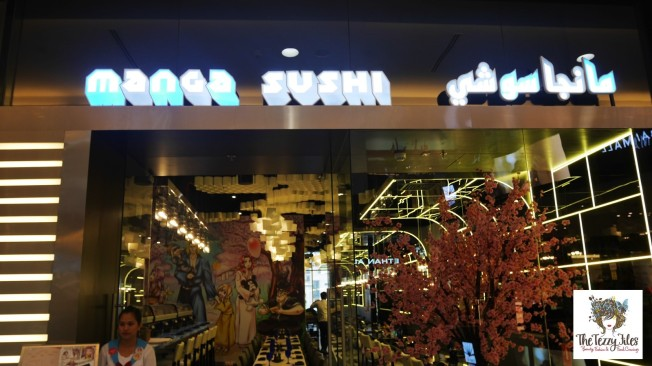 Manga Sushi The Dubai Mall review by The Tezzy Files Dubai Food Blogger (4)