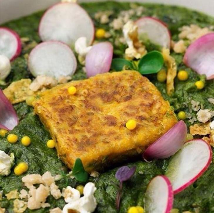Jodhpur Royal Dining Diwali Recipe Makkai Palak Red Raddish Carpaccio Vegetarian Dubai Food Blogger The Tezzy Files.jpg