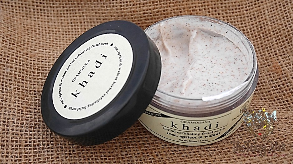 Khadi Natural Rose Apricot Walnut Herbal Exfoliating Facial natural beauty blog the tezzy files skincare dubai uae india (2).jpg