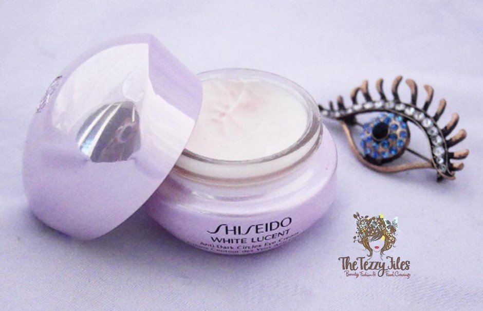 shiseido White Lucent Anti Dark Circles Under Eye Cream Review The Tezzy Files Dubai Beauty Blog UAE Blogger Sephora Middle East Skincare.jpg