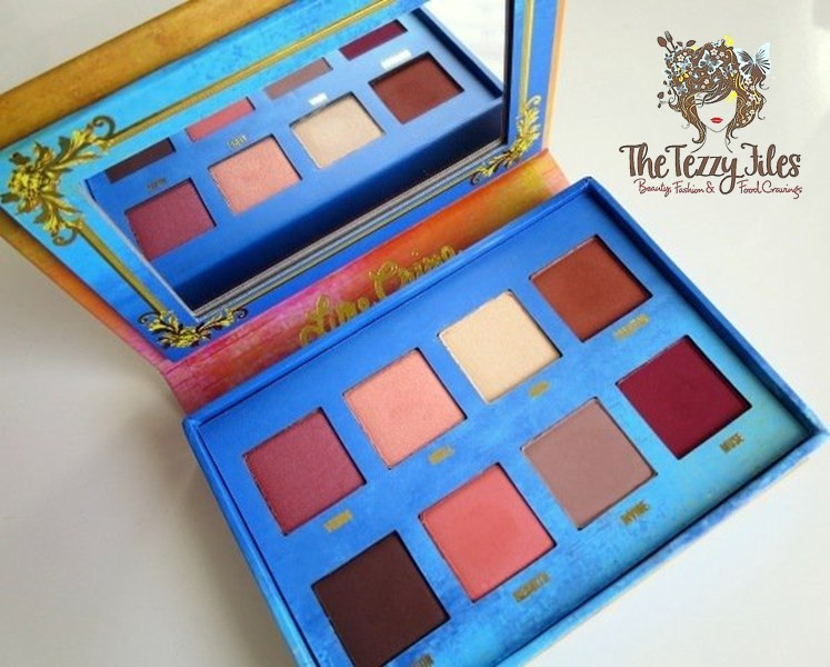 Lime Crime Venus Palette Review Swatches Dubai Beauty Blog UAE Blogger The Tezzy Files Beauty Review Cosmetics Makeup Palette Eye Shadows Sephora Middle East Venus 1 palette