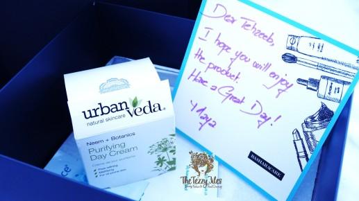 Urban Veda Neem Purifying Day Cream Review Beauty Blog UAE Dubai Beauty Blogger Lifestyle Blog Skincare Organic Natural Beauty Bashara Care Online Shopping GCC (2)