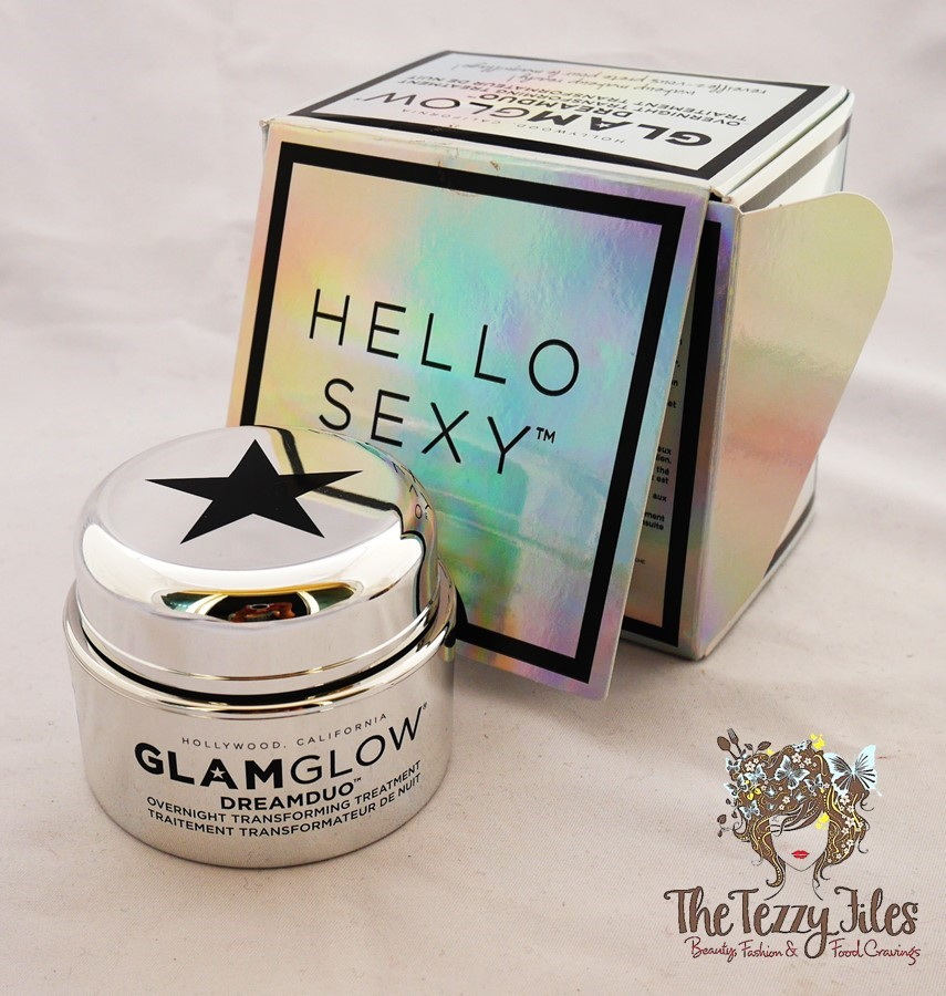 GlamGlow DreamDuo Overnight Transforming Treatment review beauty blog Dubai UAE Sephora Middle East Beauty Blogger The Tezzy Files Lifestyle Blog Skincare mask (2)