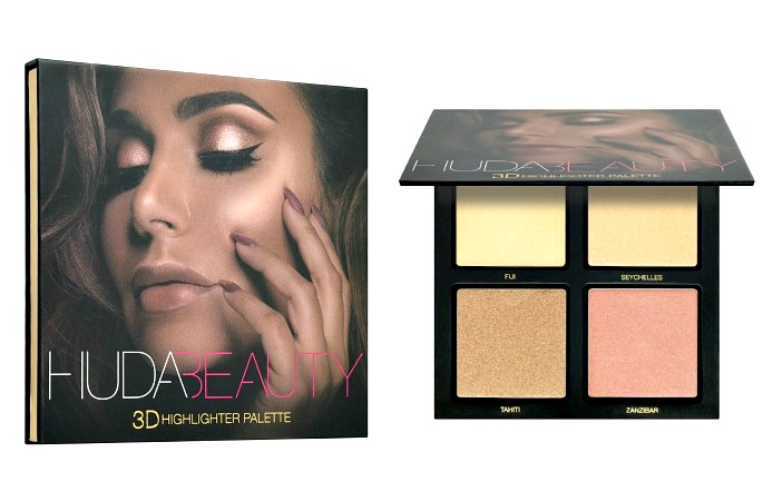 Huda Beauty 3D Highlighter Palette Sephora Midle East Price Availabiity Review The Tezzy Files Dubai Beauty Blog UAE Blogger Makeup Review