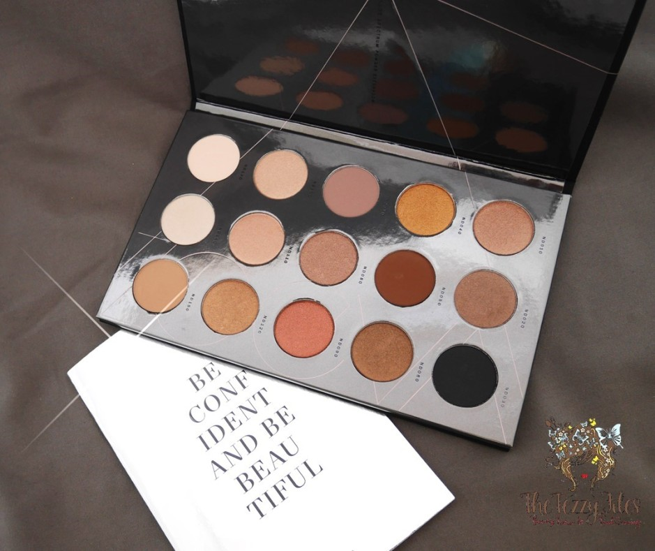 Zoeva beauty review dubai beauty blogger sephora middle east uae eye shadow palette