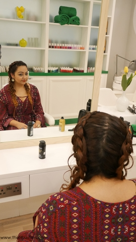 The braided bunch at blowout bar dubai the tezzy files for Beauty salon in uae