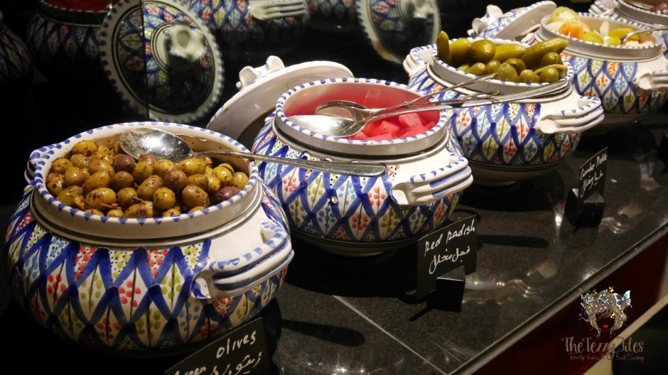 Chili pickles salads Medley Restaurant Moroccan Iftar Pullman Hotel Deira Chef Mama Iftar 2017 Dubai Food Blog review