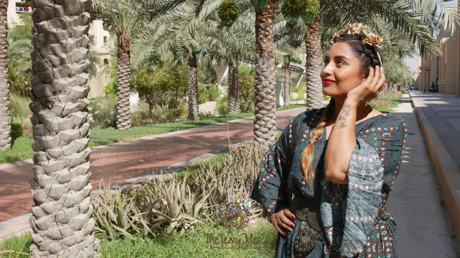 Dubai Fashion Blog UAE Fashion Blogger The Tezzy Files BlowOut Bar Review Hair Beauty Style Shein Dress Boho Frieda Kahlo