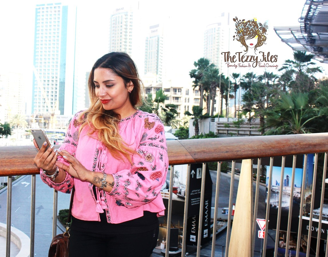 Zara pink jacket embroidery boho big sleeves bohemian fashion blog dubai style blogger uae Bohemian style fashion blogs