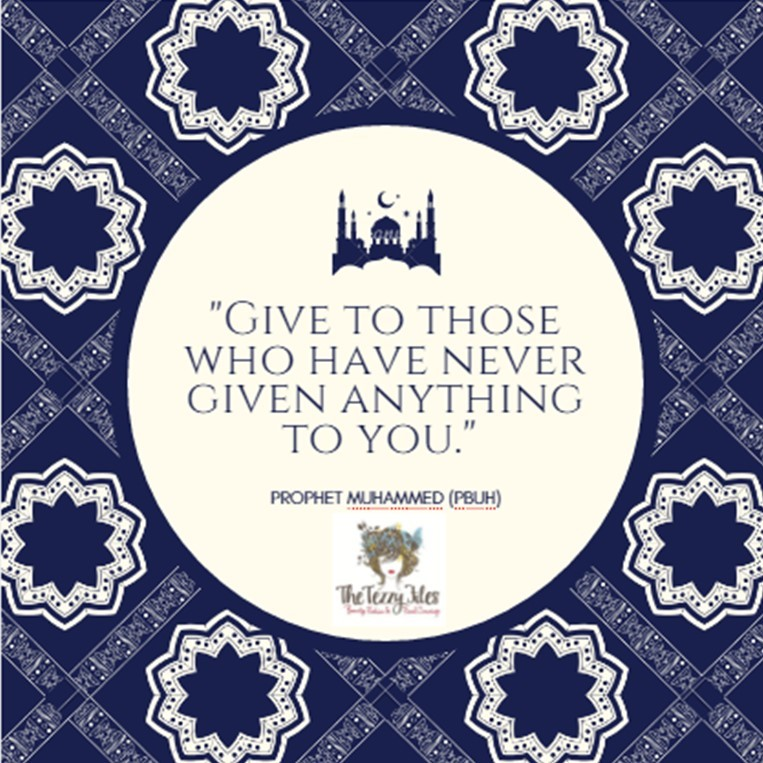 iSLAMIC QUOTE CHARITY GIVE TO THOSE